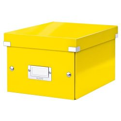 "Doboz, A5 méret, LEITZ ""Click&Store"", sárga"