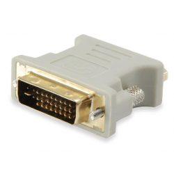 Adapter, VGA-DVI átalakító (F/M), EQUIP