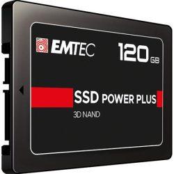 """SSD (belső memória), 120GB, SATA 3, 500/520 MB/s, EMTEC """"X150"""""""