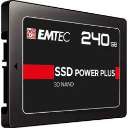 """SSD (belső memória), 240GB, SATA 3, 500/520 MB/s, EMTEC """"X150"""""""