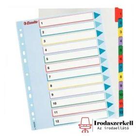 Karton regiszterek