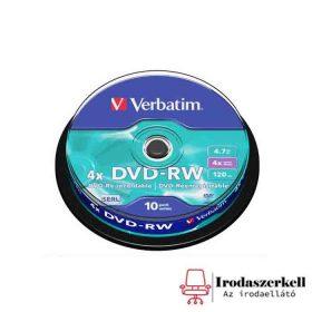 Újraírható DVD-RW lemezek